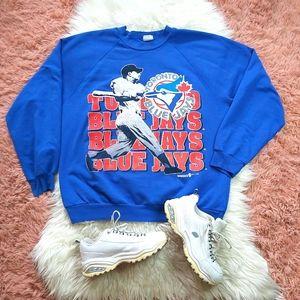 Vintage Rare 1993 Toronto Blue Jays Sweatshirt